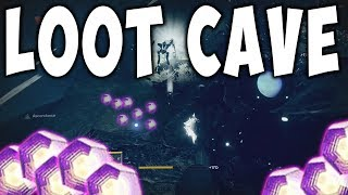 Destiny 2 LOOT CAVE UNLIMITED ENGRAMS FARM !!