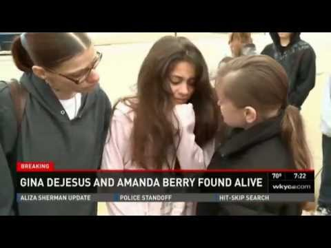 The Family and Community Celebrate The Rescue Of 3 Missing Ohio Women