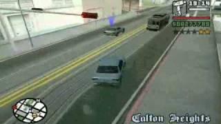 Gta San Andreas. Mission Test drive.