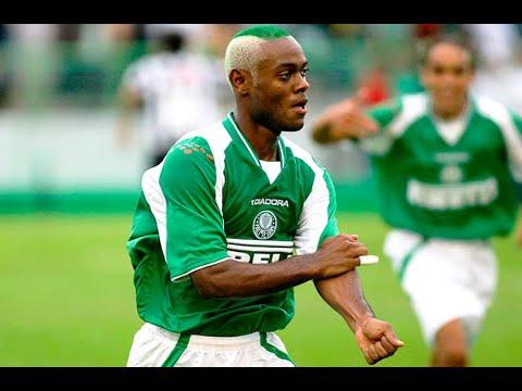 Palmeiras 4x1 Botafogo - Campeonato Brasileiro Série B 2003 - Gols (HD)