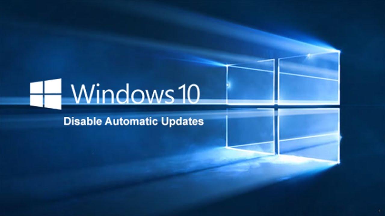 remove automatic updates windows 10