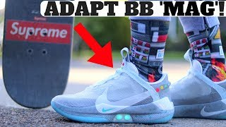 "AUTOLACING SNEAKER: NIKE ADAPT BB AUTO LACING ""MAG"" BTTF Review & On Feet!"