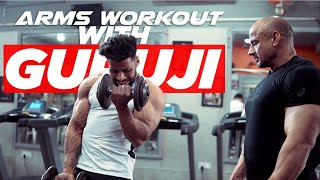 Plateau Busting ARMS WORKOUT with MR OLYMPIA (power lifting) | EP 4 | REAL TRAINING | PART 1(Biceps)