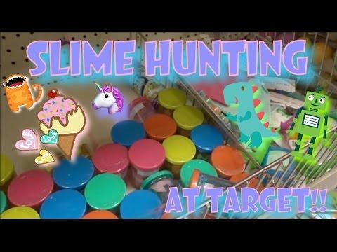 SLIME HUNTING AT TARGET!!! SUCCESS!!! | TARGET VLOG