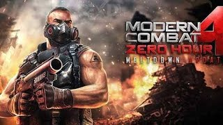 Modern combat 4 gameplay | Mission 3 | Aftermath walkthrough |  by cmh gaming
