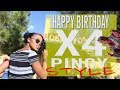Happy  Birthday (times FOUR) | Filipino style get together