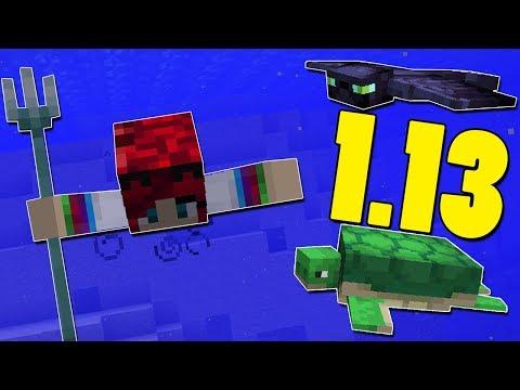 Minecraft - 1.13 Snapshot - 18w07a - Phantom, Teknős 🐢 - Aquatic Update!