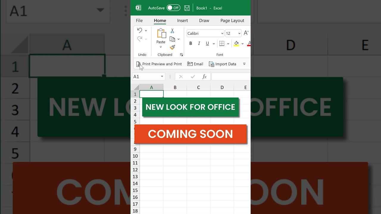 Microsoft Office Gets a NEW LOOK