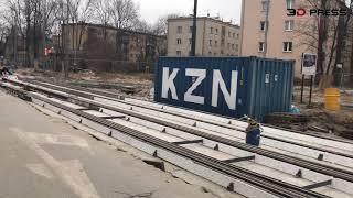 3D-PRESS: Postepy remontu ulicy Bronowickiej w Krakowie. 2019-03-23