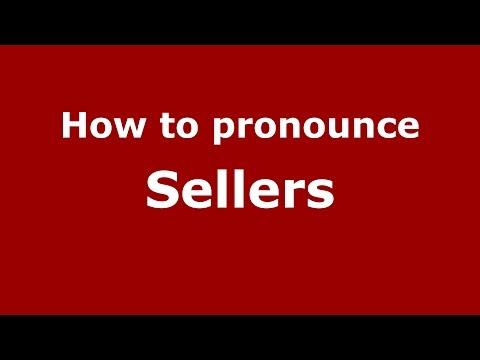 How to pronounce Sellers (Italian/Italy)  - PronounceNames.com