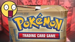 SOMEONE SENT US A HUGE BOX OF POKEMON CARDS!!!