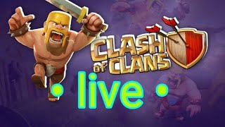 Live Clash of Clans GamePlay!