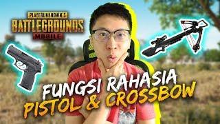 FUNGSI RAHASIA PISTOL & CROSSBOW! - PUBG Mobile Indonesia