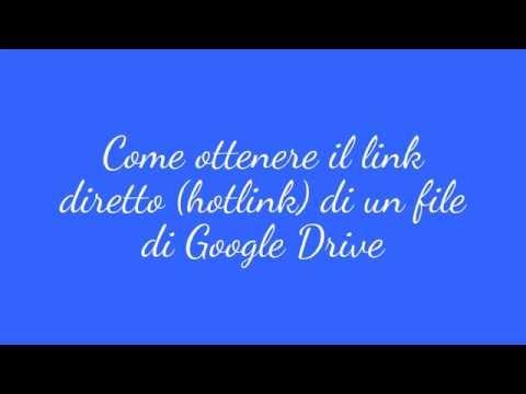 Link-diretto-file-google-drive