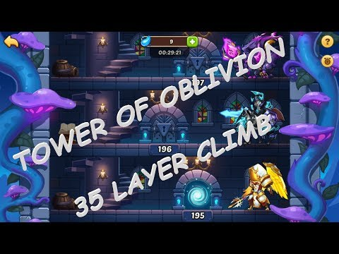 Idle Heroes Community Server #203: 35 LAYER TOWER CLIMB
