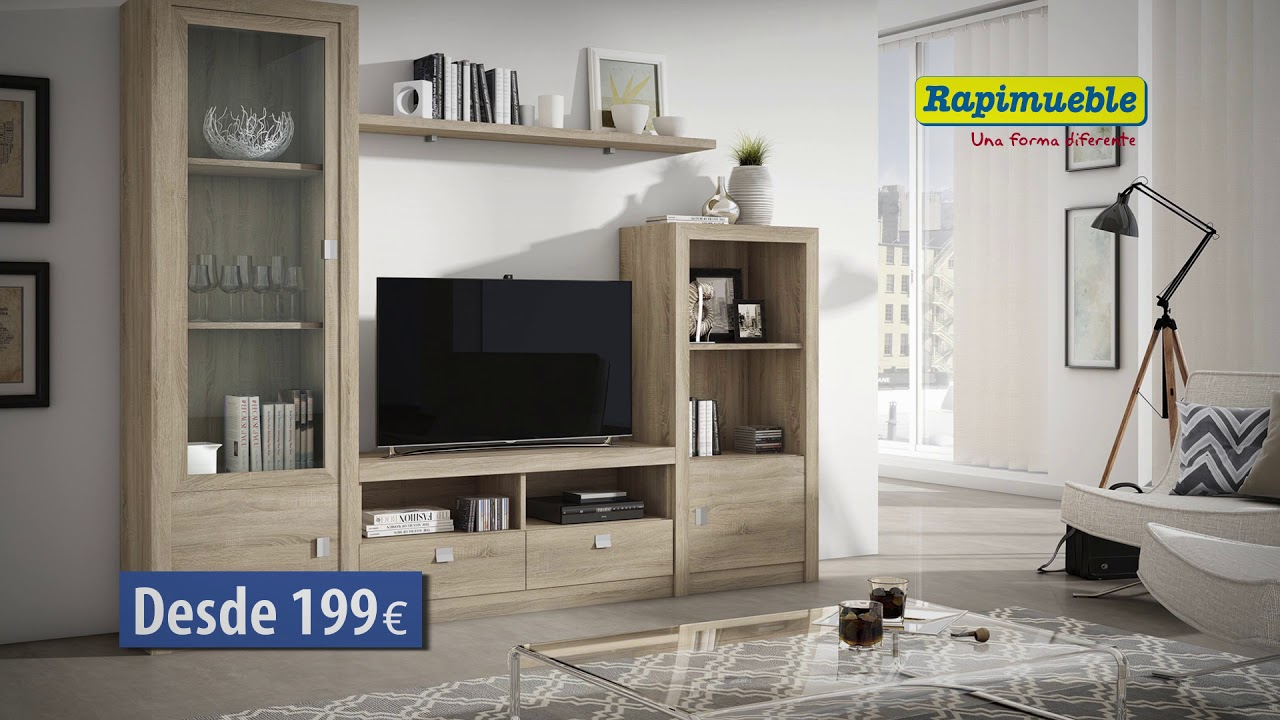 Muebles De Salon Almeria.Spot Rapimueble Salones Junio 18 Youtube