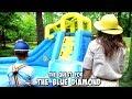 The Quest for THE BLUE DIAMOND: Professor Pitt vs The Floor is Lava SuperHero Kids SHK
