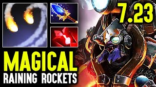 Navi.Magical Tinker With Magic Hands - Crazy Rocket Spam Fast Fingers Dota 2