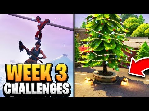 Week 3 Challenges Fortnite Season 7 GUIDE! How to Do Week 3 Challenges in Fortnite - Tutorial