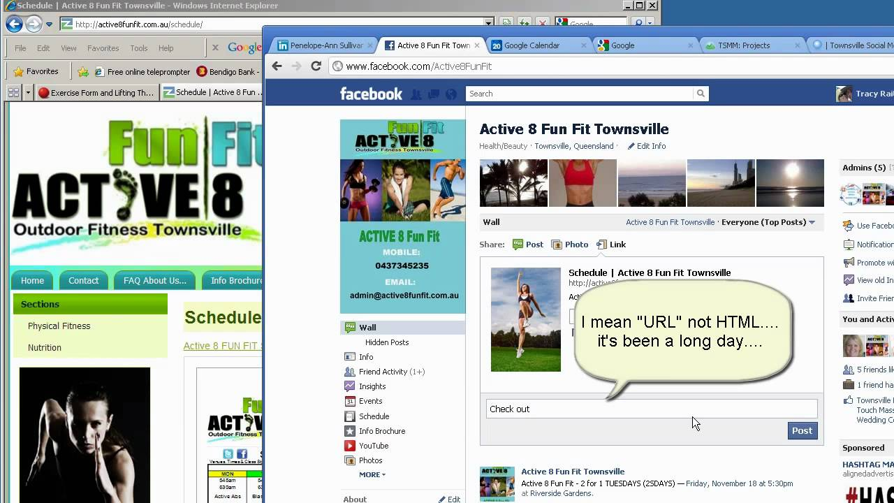How to Insert a Link into a Facebook Status Update