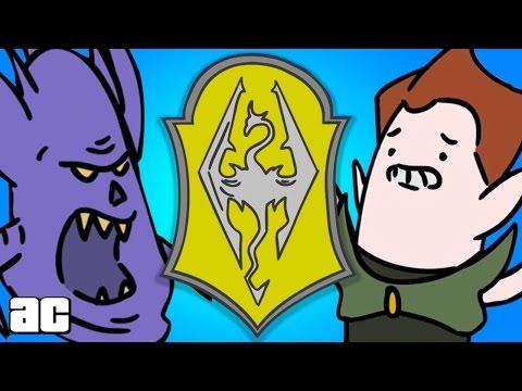 Elder Scrolls ENTIRE Storyline in 3 Minutes! (Elder Scrolls Animation)