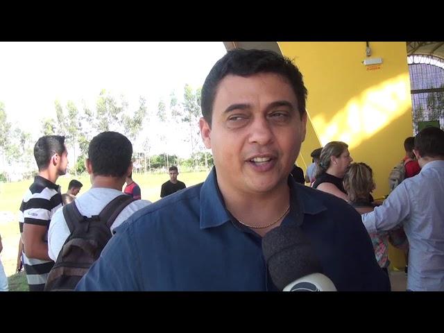 Quadra poliesportiva do IFMT Confresa é inaugurada