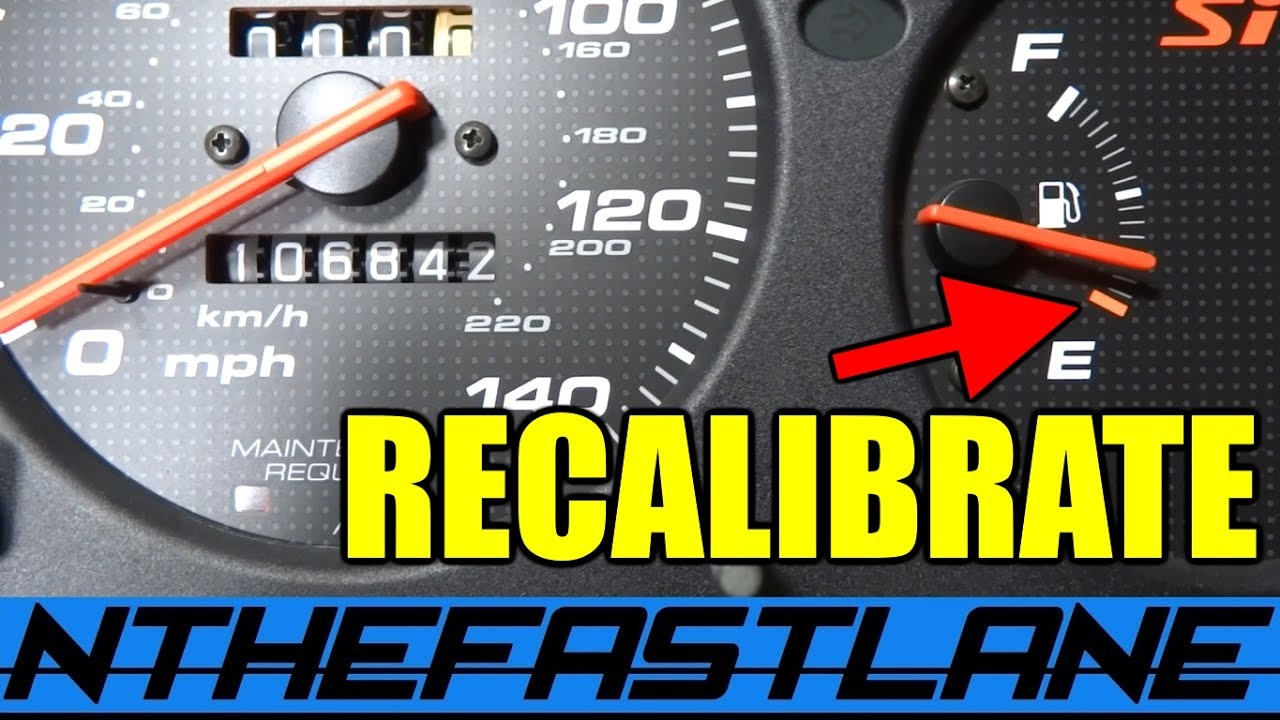 ▶️Gauge Cluster: How To Recalibrate⏱️