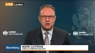 Anglo American 'In a Different Place,' Says CEO Cutifani