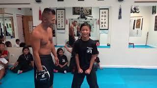 Kids Kung Fu - Iron Stomach Challenge