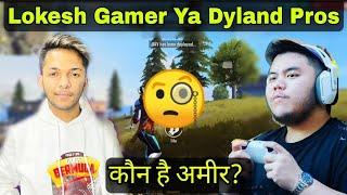 Lokesh Gamer & Dyland Pros Koun Hai Ameer? #shorts #freefire #shortsvideo   Sher Dil Gamerz