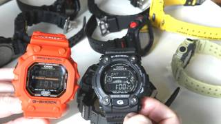 GX56 King G-Shock Comparison