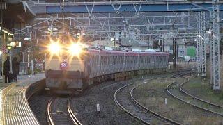 【甲種輸送】EF65 2101牽引、TX3000系6両 2020.3.8