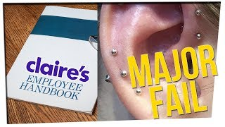 Claire's Under Fire for Questionable Ear-Piercing Policies (ft. Motoki Maxted)