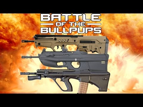 BATTLE OF THE BULLPUPS: Steyr AUG vs. FN 2000 vs. IWI TAVOR