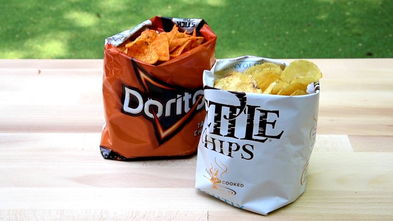 BBQ Party Hack!.. Crisp packet serving bags - YouTube 43ae03972a