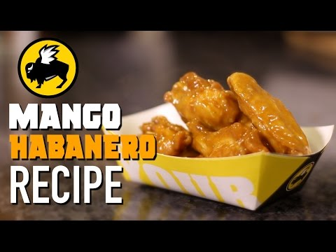 DIY Mango Habanero Wings