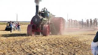 150 HP Case Road Locomotive Plowing with 24 Bottoms