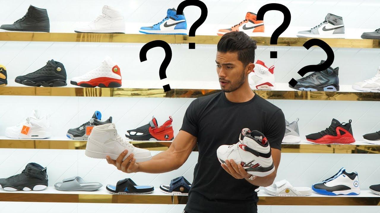 7b783b420c2 Buying MY FIRST Pair of Air Jordans....EVER! - YouTube