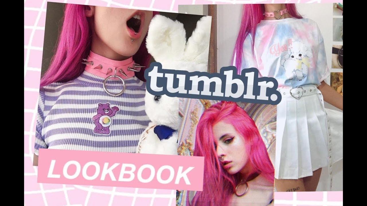 [VIDEO] - Tumblr outfits ideas/ lookbook Pastel Loves Store Review ? 5