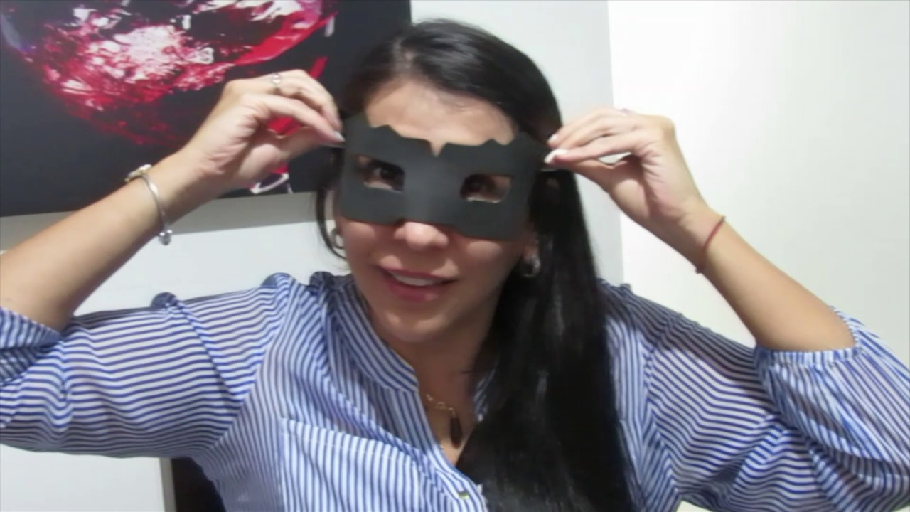 Como Hacer Un Antifaz Gatubela Cat Woman Youtube