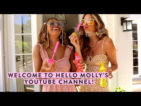 Welcome to Hello Molly's YouTube Channel! 🙌