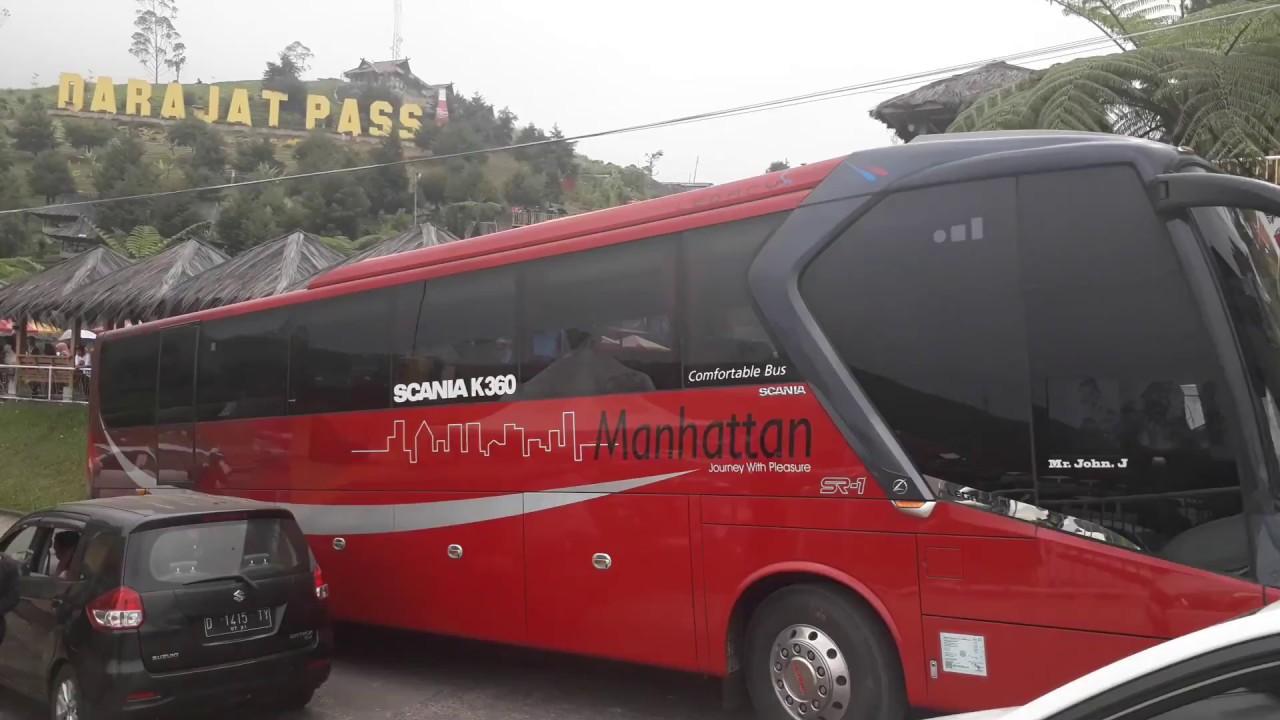 Bus Pariwisata Manhattan berkunjung ke Darajat Pass