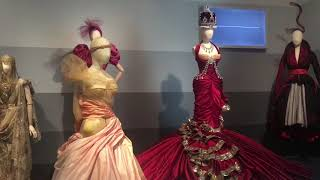 The 'cathedral and the catwalk' from 'DIOR: From Paris to the World' at the DMA