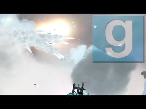 Firing 30 big rockets in the sky gmod ✓ | GMod Fun w/Sir Snake