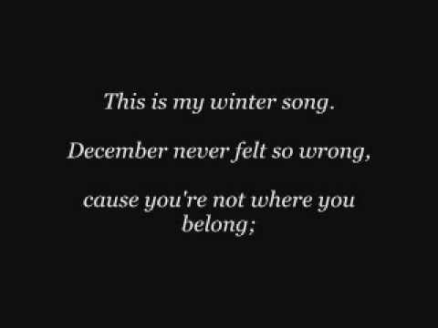 Winter Song ~ Sara Bareilles & Ingrid Michaelson ~ Lyrics
