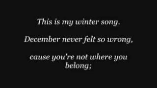 Winter Song Sara Bareilles Ingrid Michaelson Lyrics