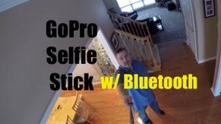 Gopro & Iphone Selfie Stick W/ Bluetooth Fits 6 Plus