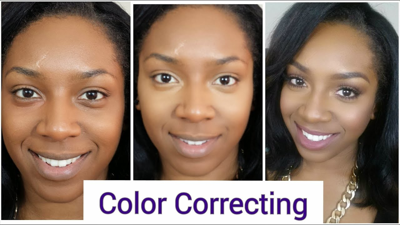 Color Correcting Achieving An Even Skin Tone Youtube