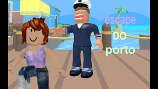 Roblox - Escapando do Porto(Escape The Shipyard Obby)