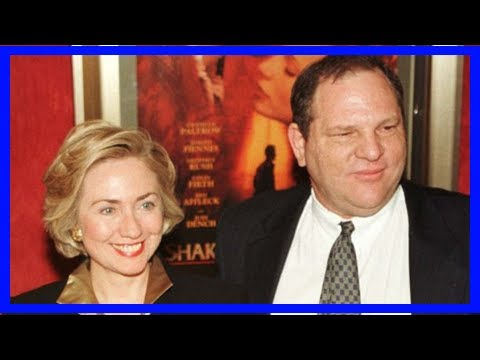 Breaking News | Harvey weinstein helped pay bill clinton's legal bills during monica era, washingto